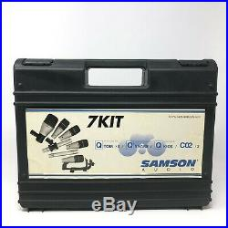 Samson Audio 7Kit Drum Mic Set Dynamic Microphone SET OF 6 (missing one Tom)