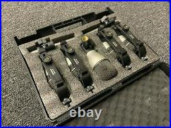 Samson Audio 7Kit Drum Microphones Mics QTOm QSnare QKick C02
