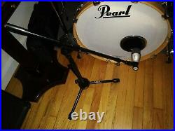 Samson Audio 8Kit Drum Microphone Kit with shorty boom stand for kick mic, etc