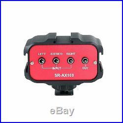 Saramonic Dual Wireless 500 MHz UHF Band Lavalier Mic Bundle and Audio Mixer