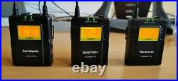 Saramonic Wireless Lapel Mic System (2 x TX9 & 1 x RX9 receiver) with Hard Case