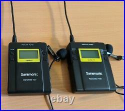 Saramonic Wireless Lapel Mic System (2 x TX9 & 1 x RX9 receiver) with Hard Case