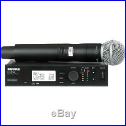 Shure ULXD4 Digital Wireless Receiver with SM58 Microphone, Audio, Mic, Concert