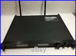 Shure UR4D Dual Wireless Microphone Receiver Mic Audio UR4 D L3 638-698 MHz