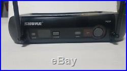 Shure Wireless Audio System. PGX4 Receiver, PGX2 Mic SM58 and original Hard Case