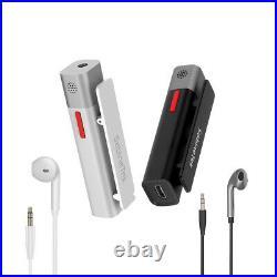 SmartMike+ Wireless Bluetooth Microphone Headset Video Radio Sound Recording Mic