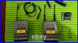 Sony B1 & P1 wireless microphone system with ECM-77BC mic, great for video