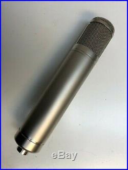 Sony C800 Clone with Luke Audio Capsule Multi-pattern tube mic