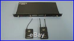 Sony UTX-B2 UHF TRANSMITTER & SONY URX-P2 TUNER & GTD Audio G-622 Mic System