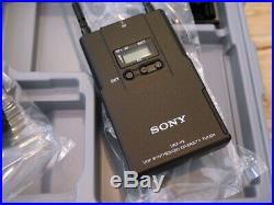 Sony UWP-V1 Wireless Lavalier Microphone Bodypack Package / Audio UWP D16 V6 Mic
