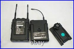 Sony Wireless Audio Transmitter UTX-B03 & Receiver URX-P03 with Lavalier Mic