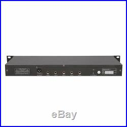 Sound Around Pyle VHF Wireless Rack Mount Microphone System, 2 Handheld Mics