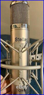 Stellar Audio CM-5 Studio Tube Condenser Mic, Great Condition