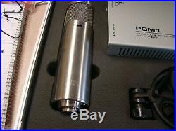 Sterling Audio Microphone ST69 Multi-Pattern Tube Condenser Mic with Case