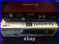 Sterling Audio Ocean Way Condenser Mic + Focusrite Scarlett 2i4 Audio Interface