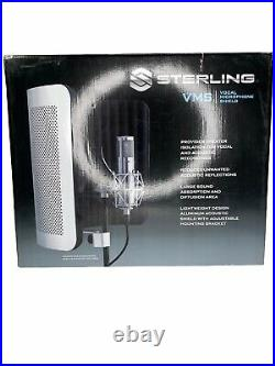 Sterling Audio VMS Vocal Microphone Shield & Sterling Audio ST155 Condenser Mic