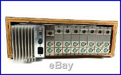 Summit Audio Inc Powered Rack of 6 M210 Microphone Pre Mic Preamps Vintage