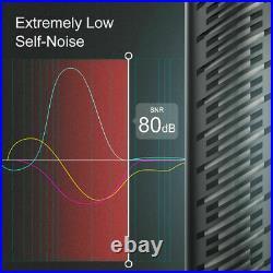 Synco Audio Mic-D2 Hyper-Cardioid Condenser Shotgun Microphone Mic for Interview