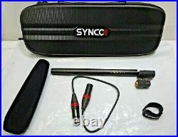 Synco Audio Mic-D2 Hyper-Cardioid Condenser Shotgun Microphone #SY-D2-BK