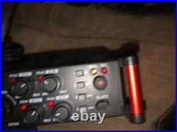 TASCAM DR-70D 4-Channel Audio Recording Device, Deity Microphone and Lapel Mic