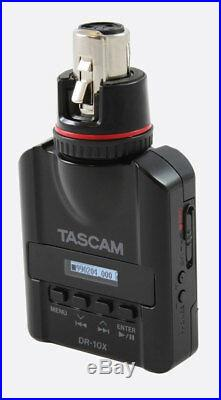 Tascam DR-10X Mic-Attachable Audio Recorder New