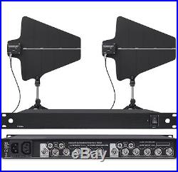 UHF Antenna Distribution System Distributor wTwo Paddles for Audio-Technica mics