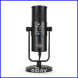 USB Microphone Studio Recording Mic Condensor Podcast Music Speech Audio Singing