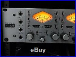 Universal Audio 4-710D Four Channel Mic Pre Microphone Preamp UAD