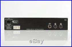 Universal Audio LA-610 Mk II Microphone Mic Line Tube Preamp & Compressor #32965