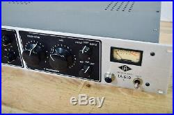 Universal Audio LA-610 mic preamp compressor excellent-microphone preamp
