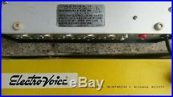 Vintage Audio Shure M68 mixer PE 515 microphone & Electro-Voice 644 dynamic mic