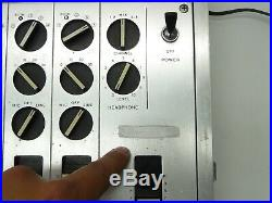 Vintage Sony Mx-16 Mx16 Line Mixer 8-channel Audio MIC Microphone Mixing Board