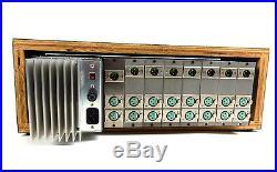 Vintage Summit Audio Inc Powered Rack of 6 M210 Microphone Pre Mic Preamps