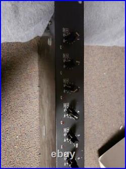 Vtg Yamaha MLA7 Microphone Mic Line Amplifier 8 Channel Pro Audio Rack Unit Rare