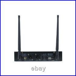 W Audio DM 800 H Twin Uhf Handheld Rechargeable Microphone System Ch 70 Dm800h
