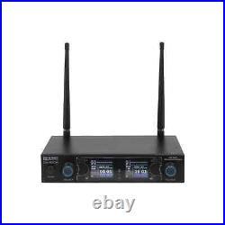 W Audio DM 800H Twin Wireless Handheld Microphone System UHF (863.0Mhz-865.0Mhz)