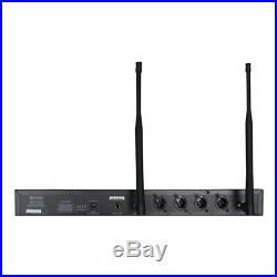 W Audio DQM 600H Quad Radio Microphone Handheld Wireless Mic System CH38