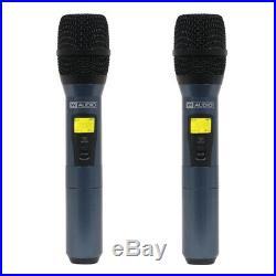 W Audio DQM600H Quad Handheld UHF System (CH38)