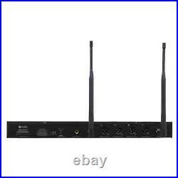 W-Audio DQM600H UHF Quad Handheld Wireless Mic System (606-614Mhz) Channel 38