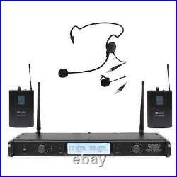 W Audio DTM 800 Twin Beltpack Diversity System (863.0Mhz-865.0Mhz)