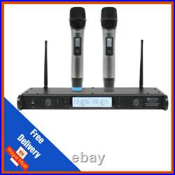 W Audio DTM800H Twin Handheld Diversity System