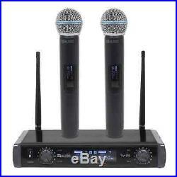 W Audio TM 80 Twin Handheld UHF System (863.0Mhz/864.0Mhz)