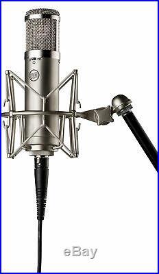 Warm Audio WA-47 JR FET Condenser Microphone Recording Mic+Headphones+Stand