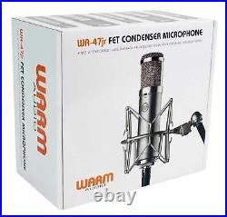Warm Audio WA-47 JR FET Condenser Microphone Recording Studio Mic+40 Boom Arm