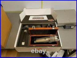 Warm Audio WA-47 U-47 style tube condenser mic withpwr supply/shockmount/box