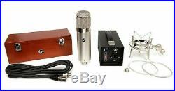 Warm Audio WA-47 WA47 Vacuum Tube Condenser Mic Large Diaphragm Microphone