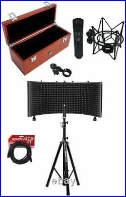Warm Audio WA-87 Black FET Condenser Microphone Recording Studio Mic+Vocal Booth