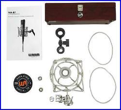 Warm Audio WA-87 FET Condenser Microphone Recording Studio Mic+Vocal Booth+Cable