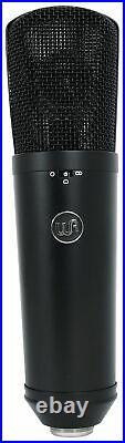 Warm Audio WA-87 R2 Black FET Condenser Microphone Recording Mic+AKG Headphones