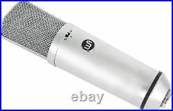 Warm Audio WA-87 R2 FET Condenser Microphone Recording Studio Mic In Nickel